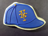 Ballcap decorated cookie design by Sweet Themes Bakery