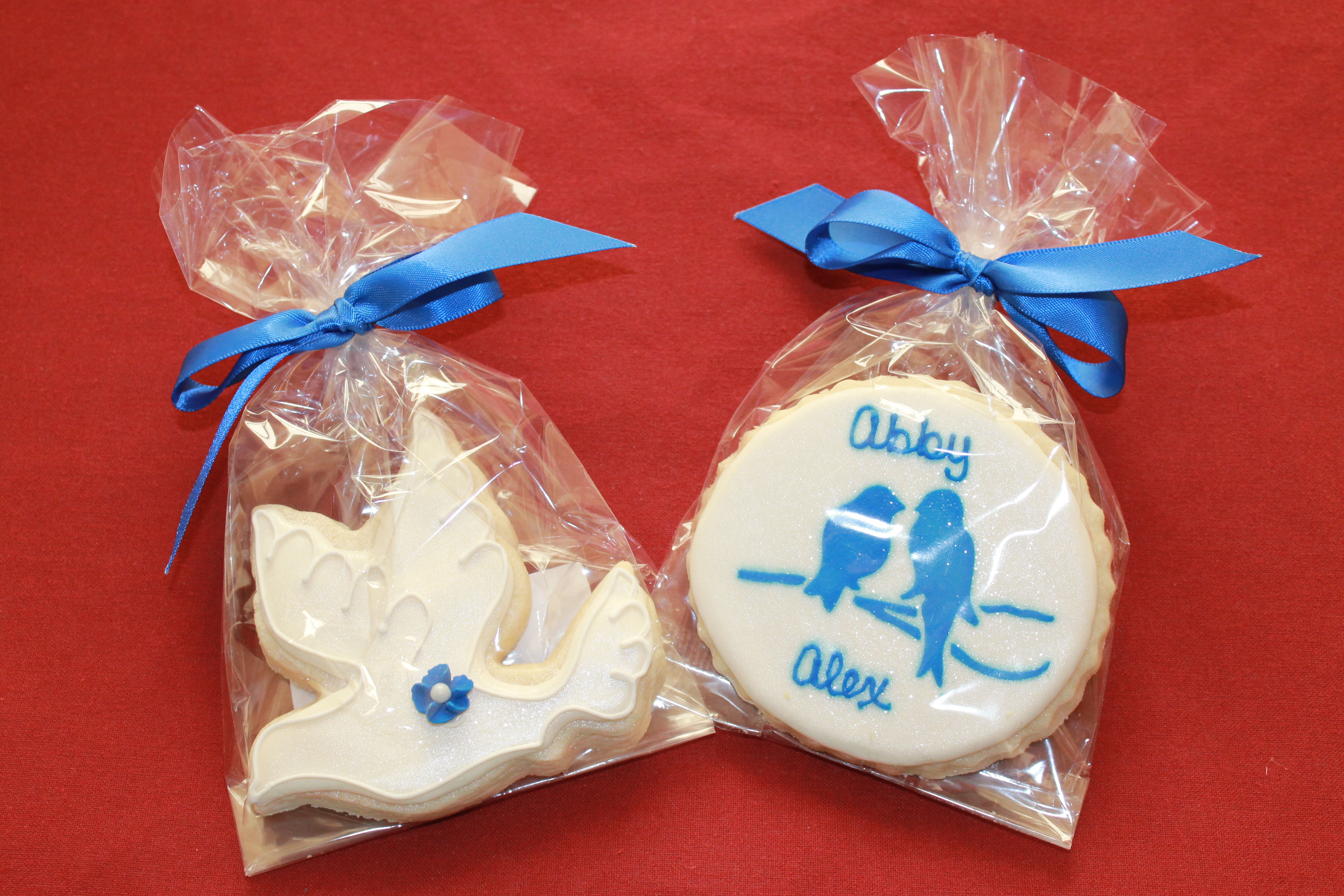 Abby's Wedding Cookie Favors