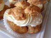 Cream Puff Custom Pastry Design at Sweet Themes Bakery Kent Washington