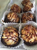 Chocolate Dipped Coconut Macaroons Pastry Custom Orders at Sweet Themes Bakery