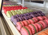 Almond Macarons Custom Pastry Design at Sweet Themes Bakery Kent Washington