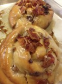 Maple Bacon Roll Pastry Custom Orders at Sweet Themes Bakery