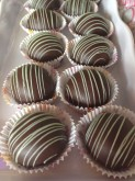 Chocolate Mint Cake Truffles Custom Pastry Design at Sweet Themes Bakery Kent Washington