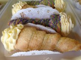 Cream Horn Custom Pastry Design at Sweet Themes Bakery Kent Washington