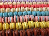 Macarons Custom Pastry Design at Sweet Themes Bakery Kent Washington