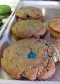 M&M Cookies Custom Pastry Design at Sweet Themes Bakery Kent Washington