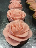 Rose Decorated Cupcake Custom Cupcake Design at Sweet Themes Bakery Kent Washington