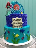 Arial Custom Cake Design