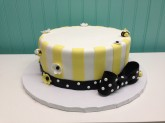 Bee Cake Custom cake design Sweet Themes Bakery Kent Washington