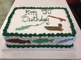 Gone Fishing Cake Custom cake design Sweet Themes Bakery Kent Washington