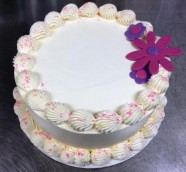 Celebration Birthday Custom Cake Design at Sweet Themes Bakery Kent Washington