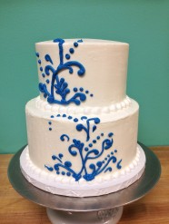 Birthday Bridal Wedding Celebration Anniversary Custom Cake Design at Sweet Themes Bakery Kent Washington