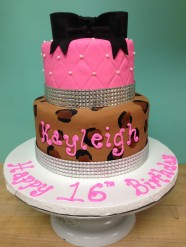 Sweet 16 Cake Custom Cake Design at Sweet Themes Bakery Kent Washington