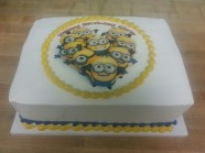 Minions Cake Custom Cake Design at Sweet Themes Bakery Kent Washington