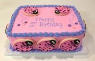 Lady Bug Cake Custom Cake Design at Sweet Themes Bakery Kent Washington