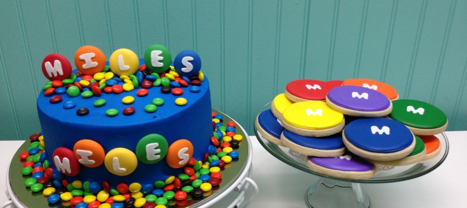 M & M Cake and Cookies