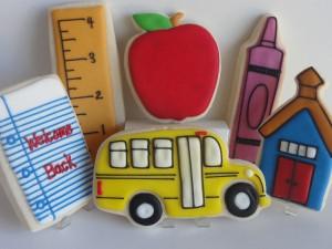 Back to School Cookies photo