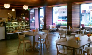 Sweet Themes Bakery is a perfect gathering spot for small and medium-sized groups.