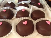 Peppermint Pattie Custom Pastry Design at Sweet Themes Bakery Kent Washington