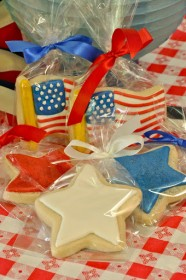 Stars & Stripes Sugar Cookies