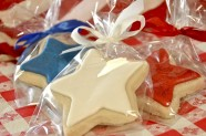 I'm seeing stars - star shaped sugar cookies, that is.
