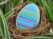 Imagine finding this Easter Egg Cookie in your Easter Egg Hunt!