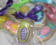 Whooooo ordered these adorable owl cookies?