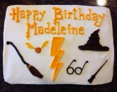 Harry Potter Cake Custom cake design Sweet Themes Bakery Kent Washington