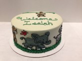 Jungle Cake Custom cake design Sweet Themes Bakery Kent Washington