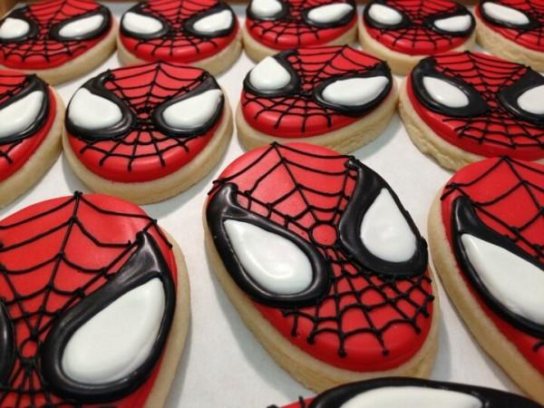Spider Man Cookies