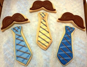 Say Happy Father's Day with custom cookies from Sweet Themes.