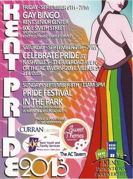 Kent Pride Sept 2013