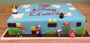 Mario Birthday Cake Custom Cake Design at Sweet Themes Bakery Kent Washington