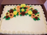 Birthday Anniversary Celebration Custom Cake Design at Sweet Themes Bakery Kent Washington