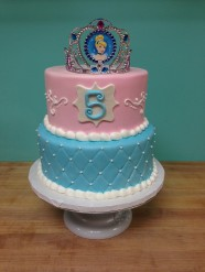 Cinderella Princess Cake Custom Cake Design at Sweet Themes Bakery Kent Washington