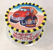 Dump Truck Custom Cake Design at Sweet Themes Bakery Kent Washington