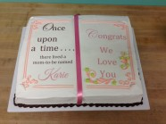 Baby Shower Cake Custom Cake Design at Sweet Themes Bakery Kent Washington