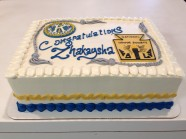 Graduation Cake Custom Cake Design at Sweet Themes Bakery Kent Washington