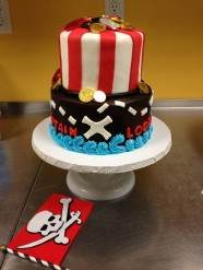 Pirate Cake 2-Tiered